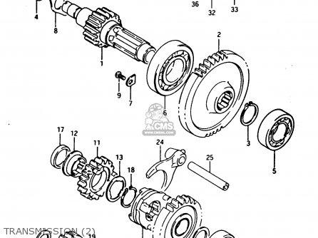 Suzuki Ltf250 1989 (k) parts list partsmanual partsfiche