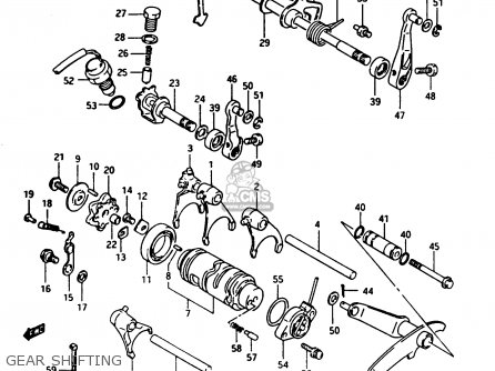 Suzuki Ltf250 1996 (t) parts list partsmanual partsfiche