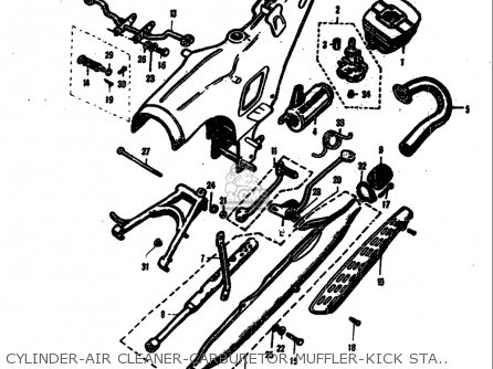 Yamaha Razz Ignition Wiring Diagram Yamaha 50 Carburetor