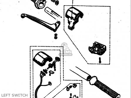 Suzuki M31 1968 USA (E03) parts lists and schematics