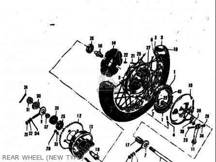 Suzuki M31 1968 USA (E03) parts lists and schematics