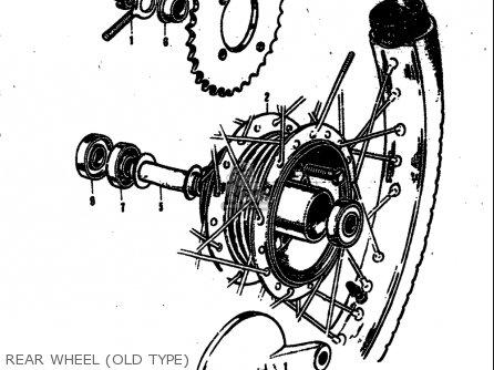 Suzuki M31 1968 Usa (e03) parts list partsmanual partsfiche
