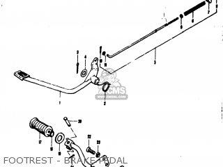 Suzuki Mt50 Trailhopper 1973 (k) Usa (e03) parts list