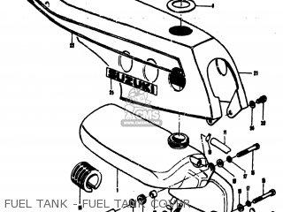 Suzuki MT50 TRAILHOPPER 1973 (K) USA (E03) parts lists and