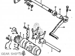 Suzuki PE175 1978 (C) USA (E03) parts lists and schematics