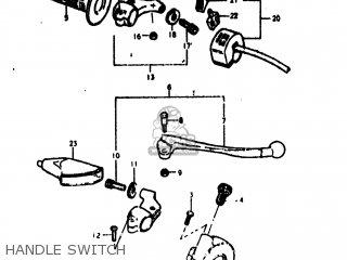 Suzuki Pe175 1978 (c) Usa (e03) parts list partsmanual