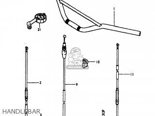 Suzuki Pe175 1980 (t) Usa (e03) parts list partsmanual