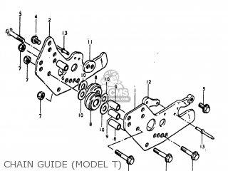 Suzuki PE175 1981 (X) USA (E03) parts lists and schematics