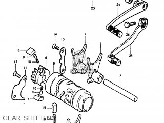 Suzuki PE175 1981 (X) USA (E03) parts lists and schematics