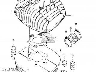 Suzuki Pe175 1984 (e) Usa (e03) parts list partsmanual