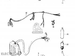 Suzuki PE250 1977 (B) USA (E03) parts lists and schematics