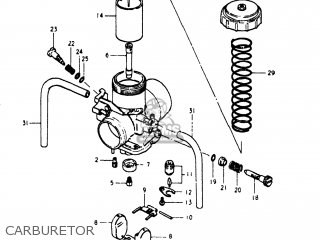 Suzuki Pe250 1980 (t) Usa (e03) parts list partsmanual