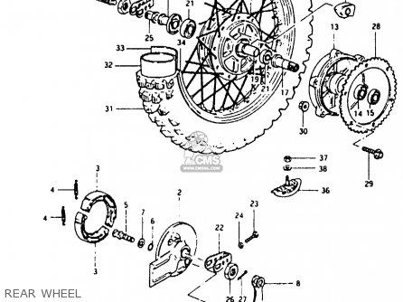 Suzuki Pe400 1981 (x) (e01 E02 E06 E15 E24) parts list