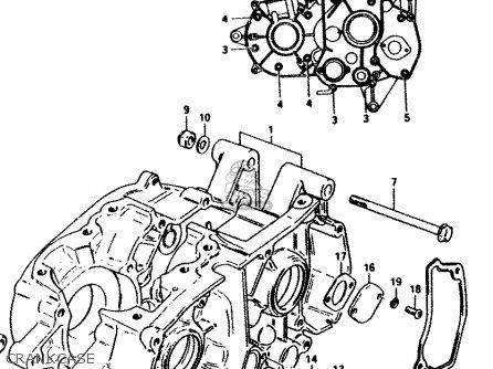 Suzuki PV50 1981 (X) (E01) parts lists and schematics