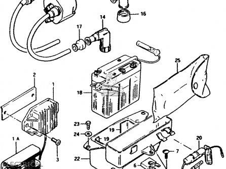 Suzuki PV50 1990 (L) (E01) parts lists and schematics