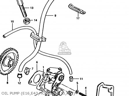 Suzuki PV50 1994 (R) (E01) parts lists and schematics