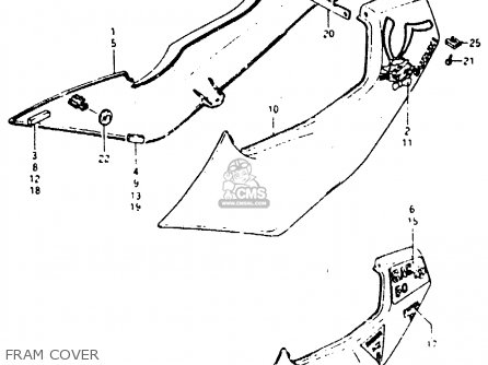 Suzuki RB50 1987 (H) (E01) parts lists and schematics