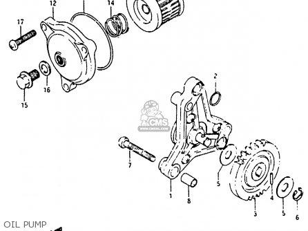 Suzuki RB50 1987 (H) (E01) parts lists and schematics