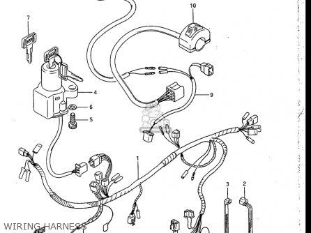 Suzuki Rb50 1987 (h) Usa (e03) parts list partsmanual
