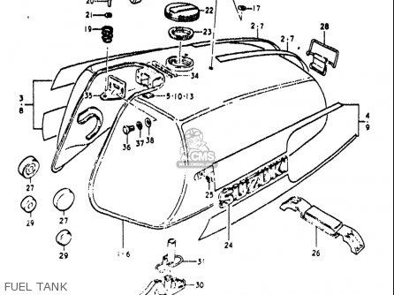 Suzuki RE5 RE5M RE5A 1975 1976 (M) (A) USA (E03) / 497CC