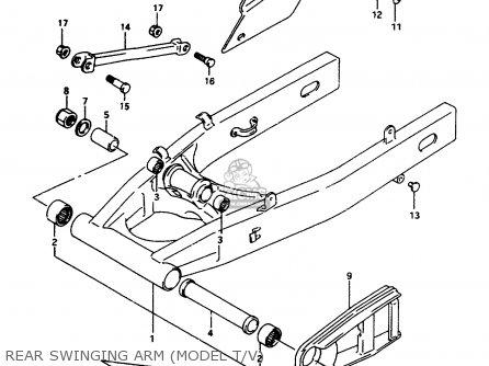 Suzuki Rf600 1993 (rp) parts list partsmanual partsfiche