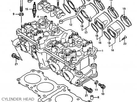Suzuki Rf600r 1993 (p) (e02 E04 E15 E17 E18 E21 E22 E24