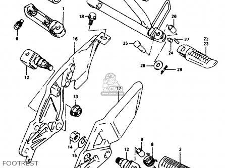 Suzuki Rf600r 1994 (r) (e02 E04 E15 E17 E18 E21 E22 E24