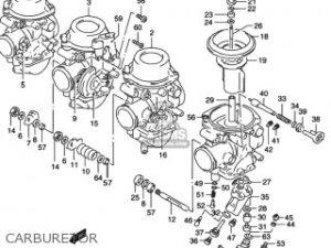 Suzuki Rf600r 1994 (r) Usa (e03) parts list partsmanual
