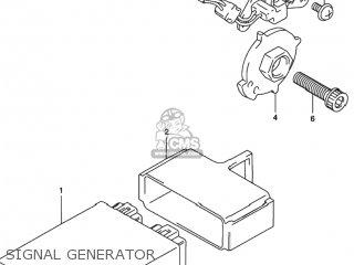 Suzuki RF600R 1994 (R) USA (E03) parts lists and schematics