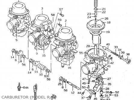 Suzuki Rf900 1994 (rr) parts list partsmanual partsfiche