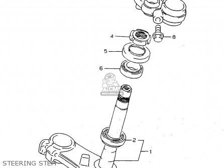 Suzuki Rf900 1995 (rs2) parts list partsmanual partsfiche