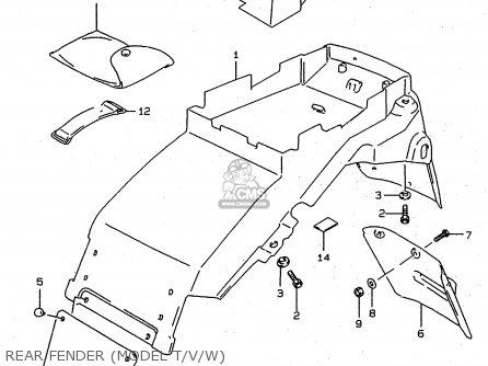 Suzuki Rf900r 1994 (r) (e02 E04 E18 E22 E24 E25 E34 E39