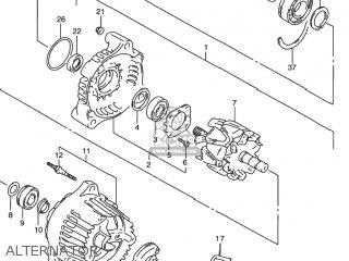 Suzuki Rf900r 1994 (r) Usa (e03) parts list partsmanual