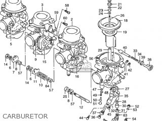 Suzuki RF900R 1994 (R) USA (E03) parts lists and schematics
