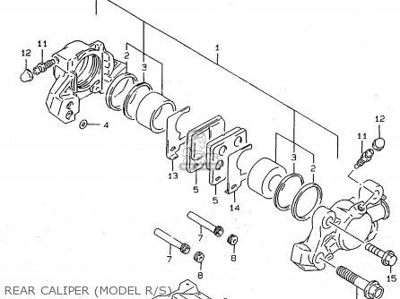 Suzuki RF900R 1995 (S2) (E02 E04 E18 E22 E24 E25 E34 E37