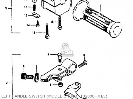 Suzuki Rg125 1986 (ucg) parts list partsmanual partsfiche