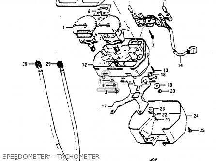 Suzuki Rg125 1986 (ucg) parts list partsmanual partsfiche