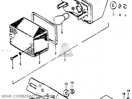 Suzuki RG125 1988 (J) parts lists and schematics