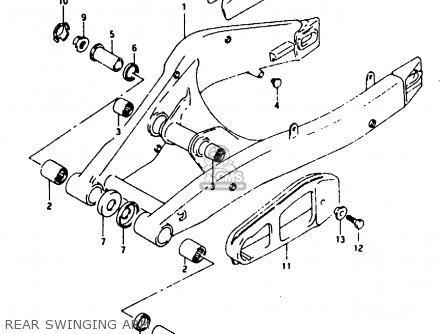 Suzuki Rg125 1992 (fun) parts list partsmanual partsfiche