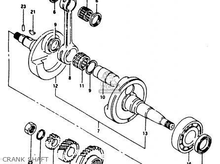 Suzuki RG125F 1992 (N) (E01 E02 E04 E15 E17 E18 E34) parts