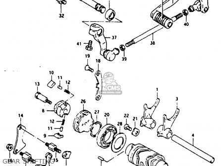 Suzuki RG125FU 1992 (N) (E02 E04) parts lists and schematics