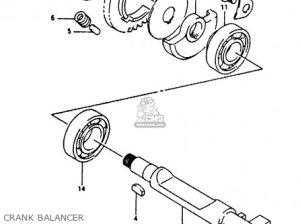 Suzuki RG125FU 1994 (R) (E02 E04) parts lists and schematics