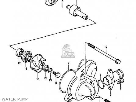 Suzuki RG125U 1992 (N) (E02 E04) parts lists and schematics