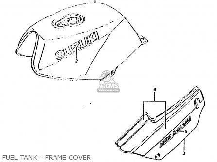 Suzuki RG125UC 1986 (G) (E02 E04) parts lists and schematics