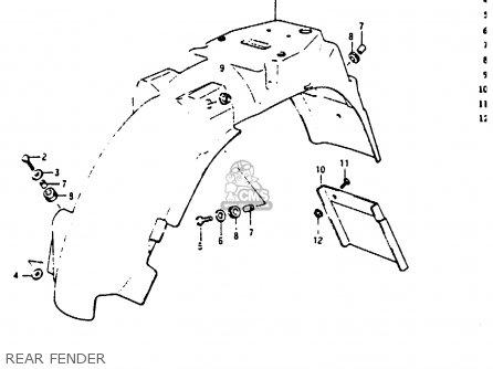Suzuki Rg125uc 1986 (g) (e02 E04) parts list partsmanual