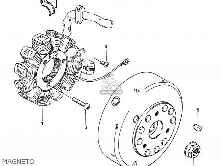 Suzuki Rg250 1986 (g) (e01 E15 E21 E25 E34) parts list