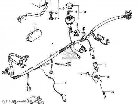 Suzuki RG250 1986 (G) (E01 E15 E21 E25 E34) parts lists