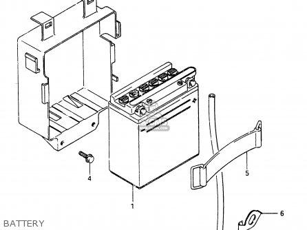 Suzuki Rg250 1987 (h) (e01 E04 E21) parts list partsmanual