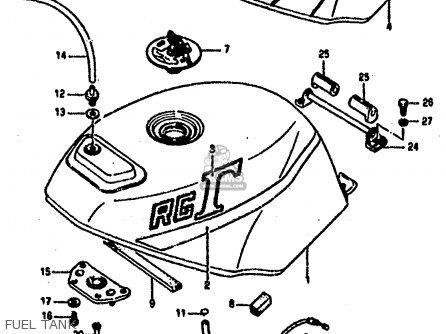 Suzuki RG500C 1987 (H) (E01 E02 E04 E06 E15 16 17 21 22 24