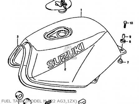 Suzuki Rg80 1991 (m) France Germany (e04 E22) parts list